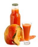 Juice and pumpkin Royalty Free Stock Photo
