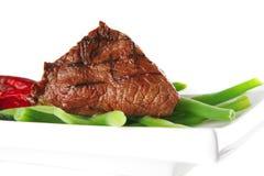 Juice roast fillet mignon stock image