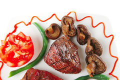 Juice roast fillet mignon Royalty Free Stock Photography