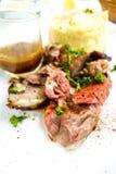 Juice roasted lamb Royalty Free Stock Photography