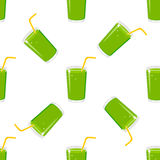 Juice Seamless Pattern Royalty-vrije Stock Afbeelding