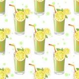 Juice Seamless Pattern Photo libre de droits