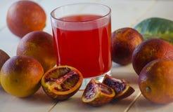 Juice of the Sicilian orange Royalty Free Stock Photos