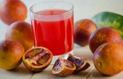 Juice of the Sicilian orange Royalty Free Stock Photography