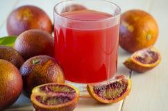 Juice of the Sicilian orange Stock Images