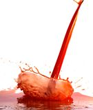 Juice Splash Stock Photography