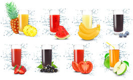 Juice Splash Lizenzfreie Stockbilder