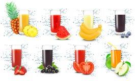 Juice splash Royalty Free Stock Images