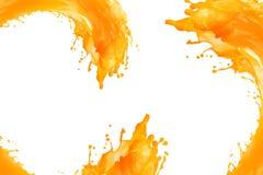 Juice splash with white background stock photos