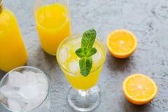 Juice Summer Concept Healthy Drink anaranjado fresco fotografía de archivo
