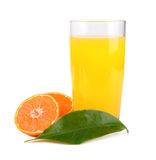 Juice from tangerine Royalty Free Stock Photo
