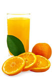 juice tangerines Стоковое Изображение RF