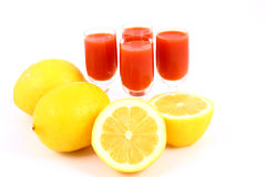 Juice Tomato Royalty Free Stock Images