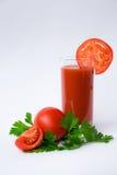juice tomato royaltyfri bild