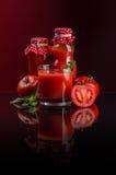 juice tomato Στοκ Φωτογραφίες