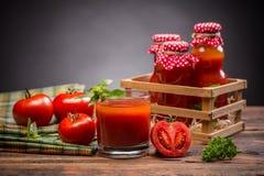 juice tomato Στοκ Φωτογραφία