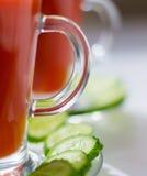 juice tomato Arkivbild