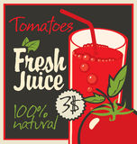 Juice tomatoes Royalty Free Stock Image