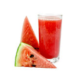 Juice watermelon Stock Image