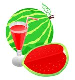 juice watermelon Arkivbild