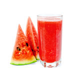 Juice watermelon in glass Royalty Free Stock Photo