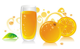 JuiceOrange Stock Foto's