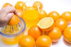 juicer πορτοκάλι Στοκ Εικόνες