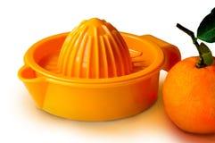 Juicer arancione Fotografia Stock