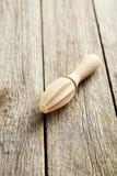 Juicer de madeira imagens de stock royalty free