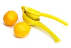 Juicer del limón fotografía de archivo libre de regalías