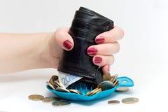 Juicer do dinheiro Fotos de Stock