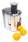 Juicer i pomarańcze zdjęcia royalty free