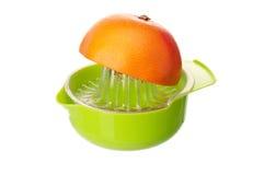 Juicer para o citrino fotografia de stock
