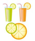 Juices Royalty Free Stock Photo