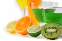Juices of citric fruit Stock Photo