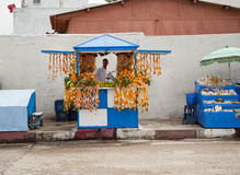 Juices in Essaouira, Morocco Stock Photography