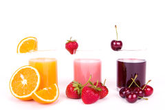 Juices royalty free stock photos