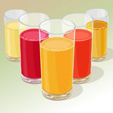 Juices Royalty Free Stock Image