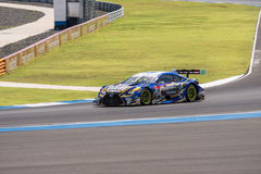 Juichi Wakisaka of LEXUS TEAM WedsSport BANDOH in Super GT Final Stock Photo