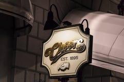 Juicht Staaf, Boston, doctorandus in de letteren toe Royalty-vrije Stock Foto's