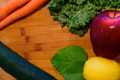 Juicing ingredienser Arkivfoto
