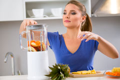 Juicing Stock Image