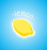 Juicy λεμόνι απεικόνιση αποθεμάτων