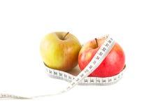 Juicy και ώριμα μήλα Στοκ Φωτογραφίες