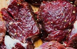 Juicy κομμάτι του πρόβειου κρέατος Στοκ Εικόνες
