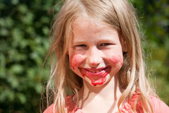 Juicy κορίτσι Στοκ φωτογραφία με δικαίωμα ελεύθερης χρήσης