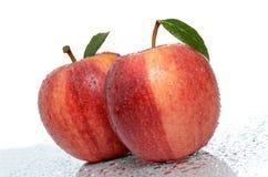 Juicy μήλα Στοκ εικόνες με δικαίωμα ελεύθερης χρήσης