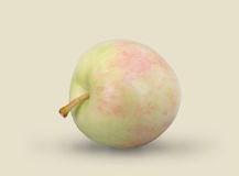 Juicy μήλο σε ένα υπόβαθρο Στοκ φωτογραφίες με δικαίωμα ελεύθερης χρήσης