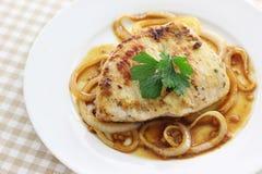 Juicy μπριζόλα χοιρινού κρέατος Στοκ εικόνα με δικαίωμα ελεύθερης χρήσης