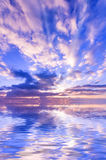 Juicy ουρανός ηλιοβασιλέματος διανυσματική απεικόνιση